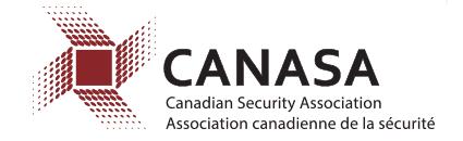 Canasa logo - Canadian Security Association